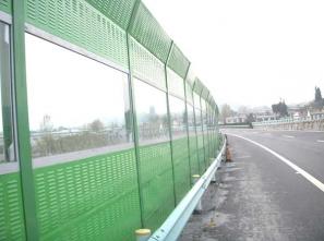 高速公路声屏障生产